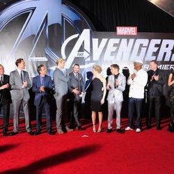 El reparto de 'Los Vengadores' en Los Angeles
