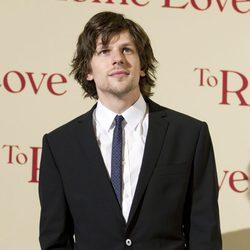 Jesse Eiseneberg en la premiére de 'To Rome with Love' en Italia