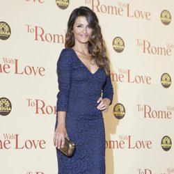 Mónica Cruz en la premiére de 'To Rome with Love' en Italia