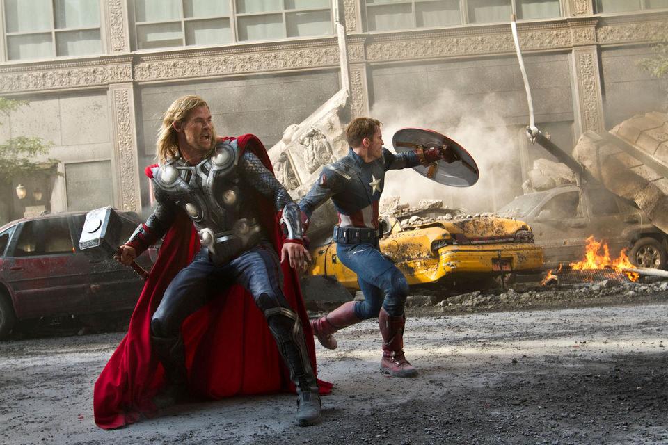 Los Vengadores, fotograma 10 de 29