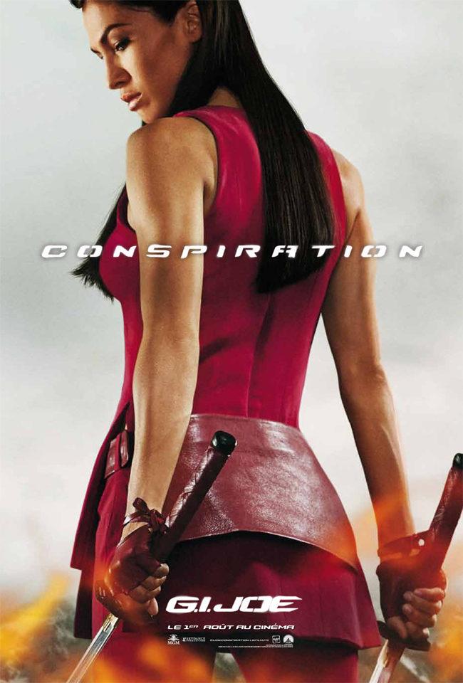 Elodie Yung es Jinx en 'G.I. Joe: La venganza'