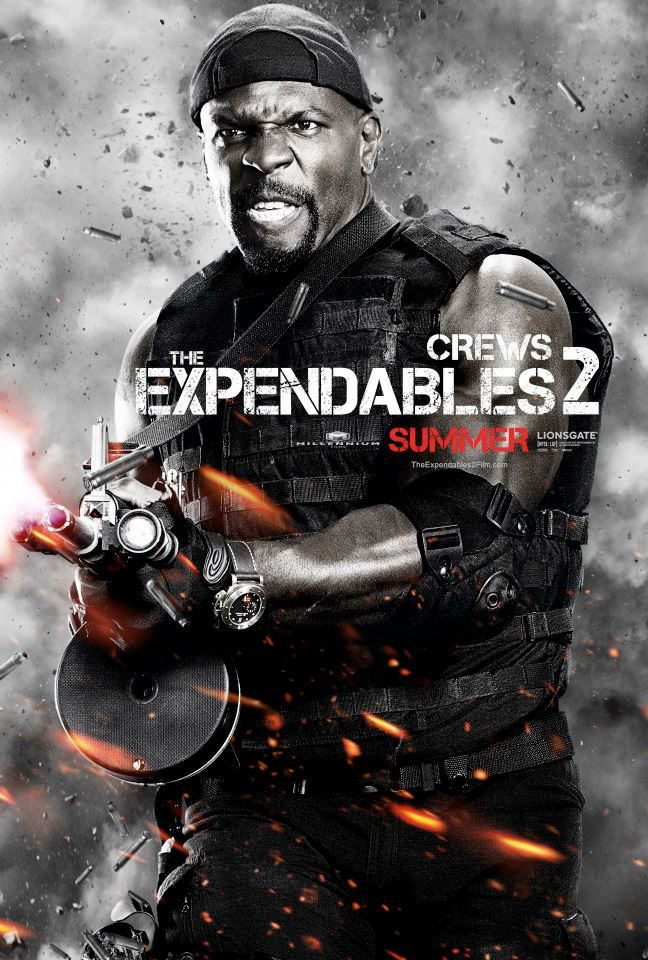 Terry Crews en 'Los mercenarios 2'