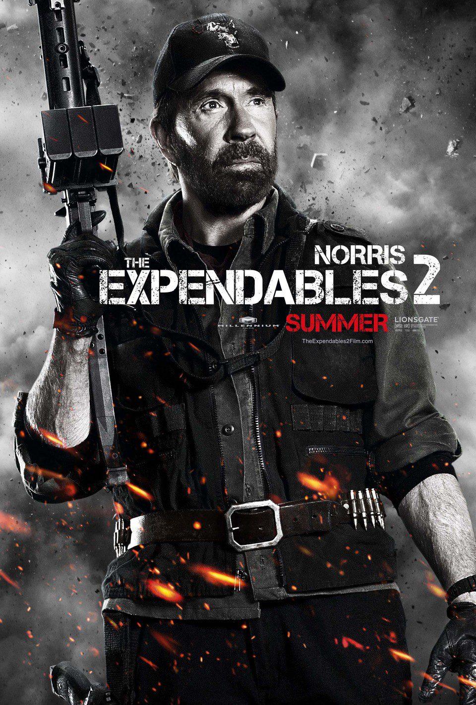 Chuck Norris en 'Los mercenarios 2'