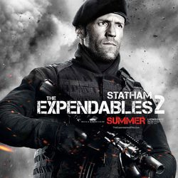 Jason Statham en 'Los mercenarios 2'
