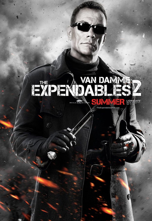 Jean-Claude Van Damme en 'Los mercenarios 2'