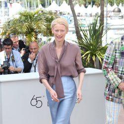 Tilda Swinton en el Festival de Cannes 2012