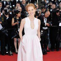 Jessica Chastain en la inauguración del Festival de Cannes 2012