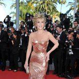 Jane Fonda en la inauguración del Festival de Cannes 2012