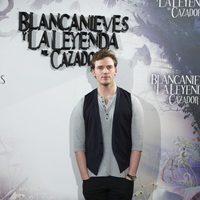 Sam Claflin en la presentación de 'Blancanieves y la leyenda del cazador' en Madrid