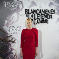 Charlize Theron en la presentación de 'Blancanieves y la leyenda del cazador' en Madrid