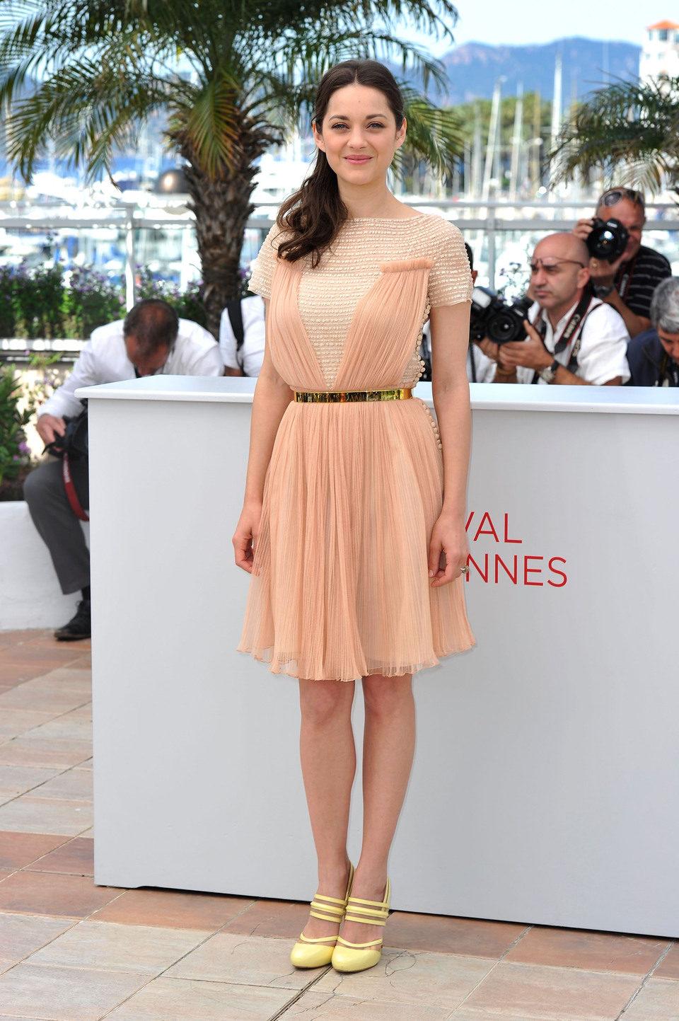 Marion Cotillard en el Festival de Cannes 2012