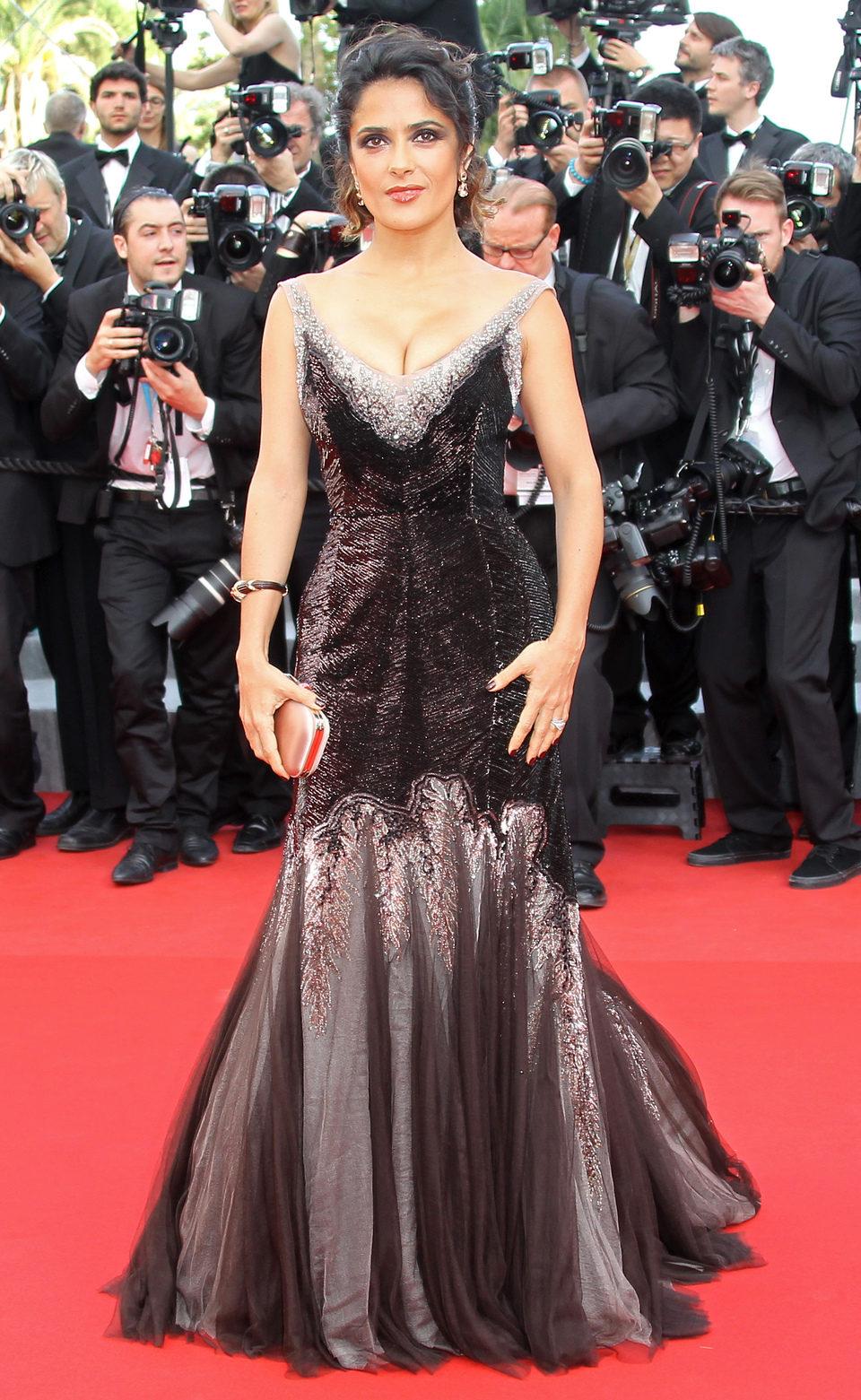 Salma Hayek en el Festival de Cannes 2012