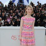 Mia Wasikowska en el Festival de Cannes 2012