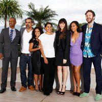 El equipo de 'The Sapphires' en el Festival de Cannes 2012
