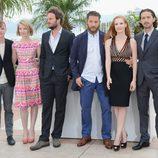 El equipo de 'Lawless' en el Festival de Cannes 2012