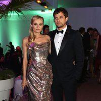 Diane Kruger y Joshua Jackson en el Festival de Cannes 2012