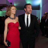Alexandra Lamy y Jean Dujardin en el Festival de Cannes 2012