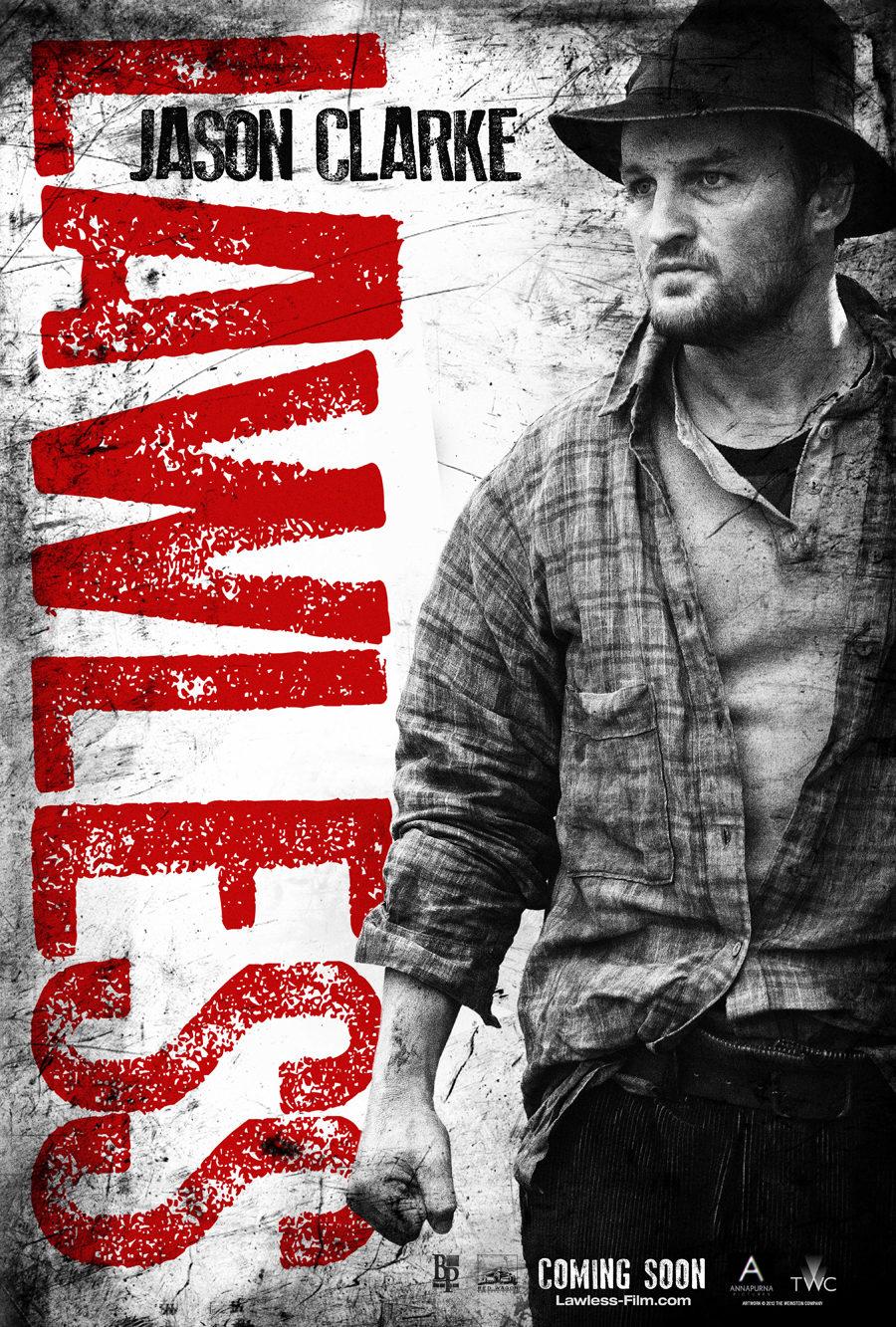 Jason Clarke en 'Lawless'