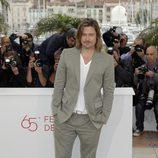 Brad Pitt en el Festival de Cannes 2012