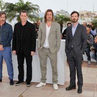 Ben Mendelsohn, Ray Liotta, Brad Pitt y Scott McNairy en el Festival de Cannes 2012
