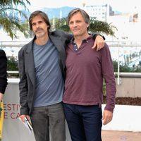Walter Salles y Viggo Mortensen en el Festival de Cannes 2012