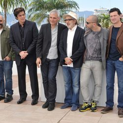 El equipo de 'Siete días en La Habana' en el Festival de Cannes 2012