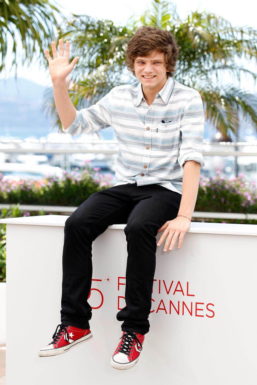 Jacopo Olmo en el Festival de Cannes 2012