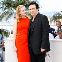 Nicole Kidman y John Cusack en el Festival de Cannes 2012