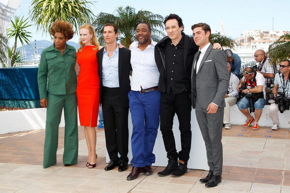 Macy Gray, Nicole Kidman, Matthew McConaughey, Lee Daniels, John Cusack y Zac Efron en el Festival de Cannes 2012