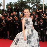 Diane Kruger en la clausura del Festival de Cannes 2012