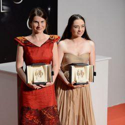 Cosmina Stratan y Cristina Flutur en el Festival de Cannes 2012