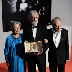Michael Haneke en el Festival de Cannes 2012