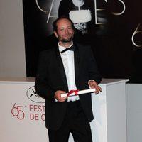 Carlos Reygadas en el Festival de Cannes 2012