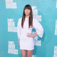 Jessica Biel en la alfombra roja de los MTV Movie Awards 2012