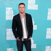 Channing Tatum en la alfombra roja de los MTV Movie Awards 2012