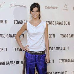 Clara Lago en la presentación de 'Tengo ganas de ti'
