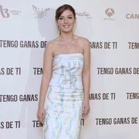 María Valverde en la presentación de 'Tengo ganas de ti'