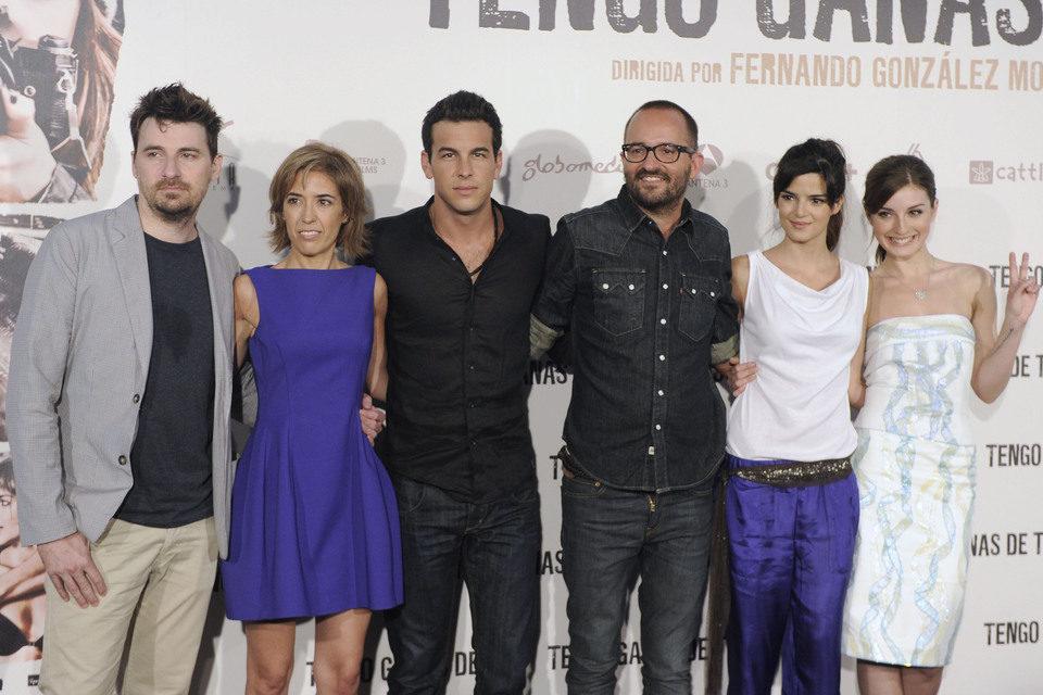El equipo de 'Tengo ganas de ti' presenta la película ante los medios