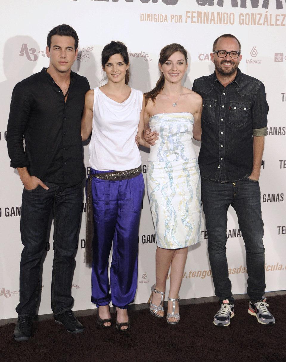 Mario Casas, Clara Lago, María Valverde y Fernando González Molina presentan 'Tengo ganas de ti'