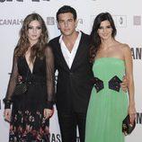 María Valverde, Mario Casas y Clara Lago en la premiére de 'Tengo ganas de ti' en Madrid