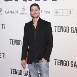 Luís Fernández en la premiére de 'Tengo ganas de ti' en Madrid