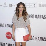 Hiba Abouk en la premiére de 'Tengo ganas de ti' en Madrid