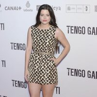 Adriana Torrebejano en la premiére de 'Tengo ganas de ti' en Madrid
