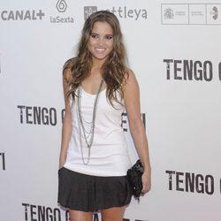 Ana Fernández García en la premiére de 'Tengo ganas de ti' en Madrid