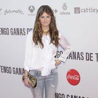 Nerea Camacho en la premiére de 'Tengo ganas de ti' en Madrid