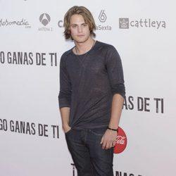 Jaime Olías en la premiére de 'Tengo ganas de ti' en Madrid