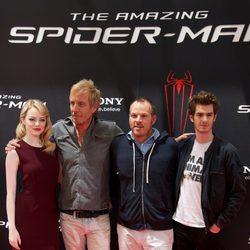 Emma Stone, Rhys Ifans, Marc Webb y Andrew Garfield presentan 'The Amazing Spider-Man' en Madrid