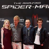 Emma Stone, Rhys Ifans, Marc Webb y Andrew Garfield presentan 'The Amazing Spider-Man' en Madrid