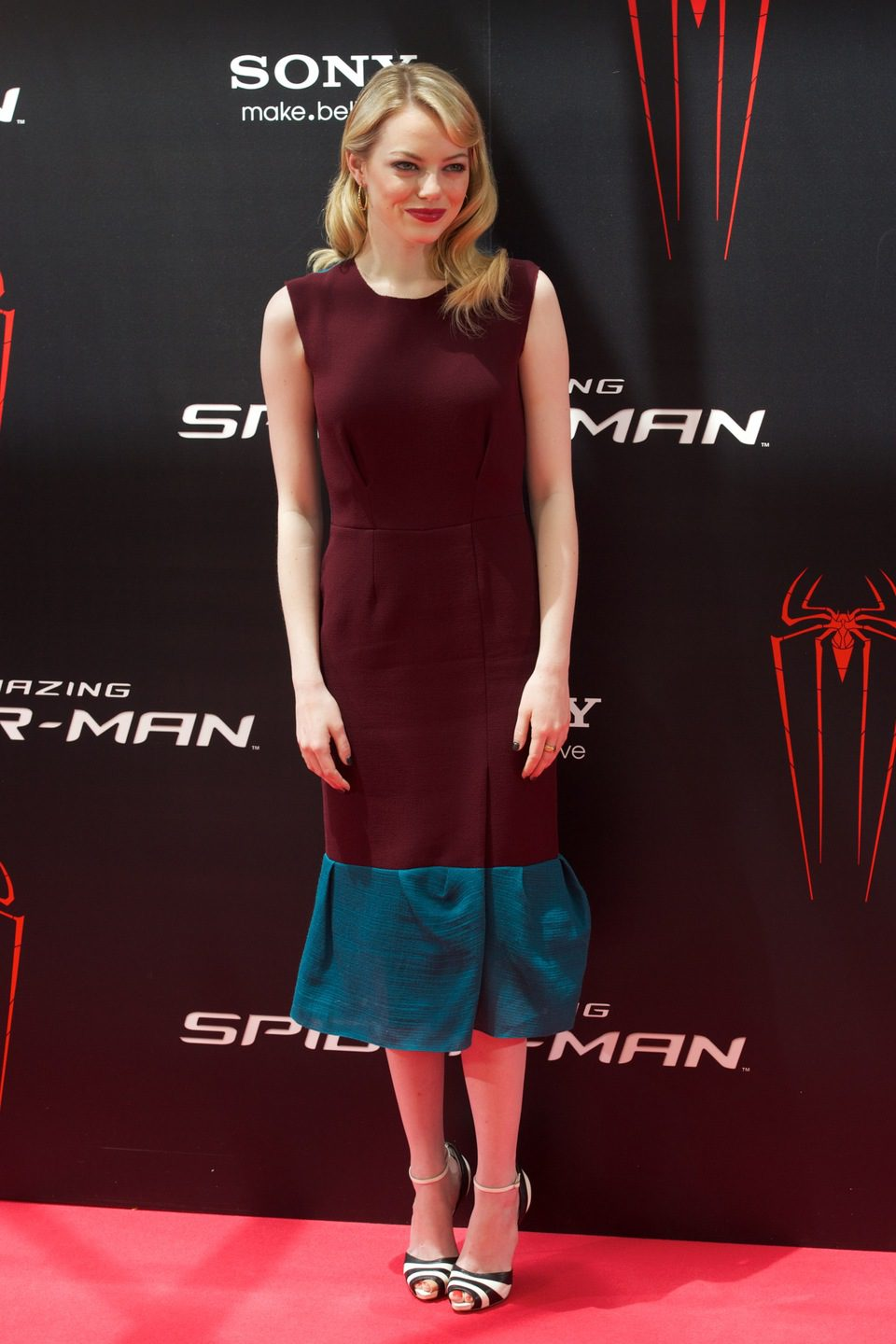 Emma Stone presenta 'The Amazing Spider-Man' en Madrid