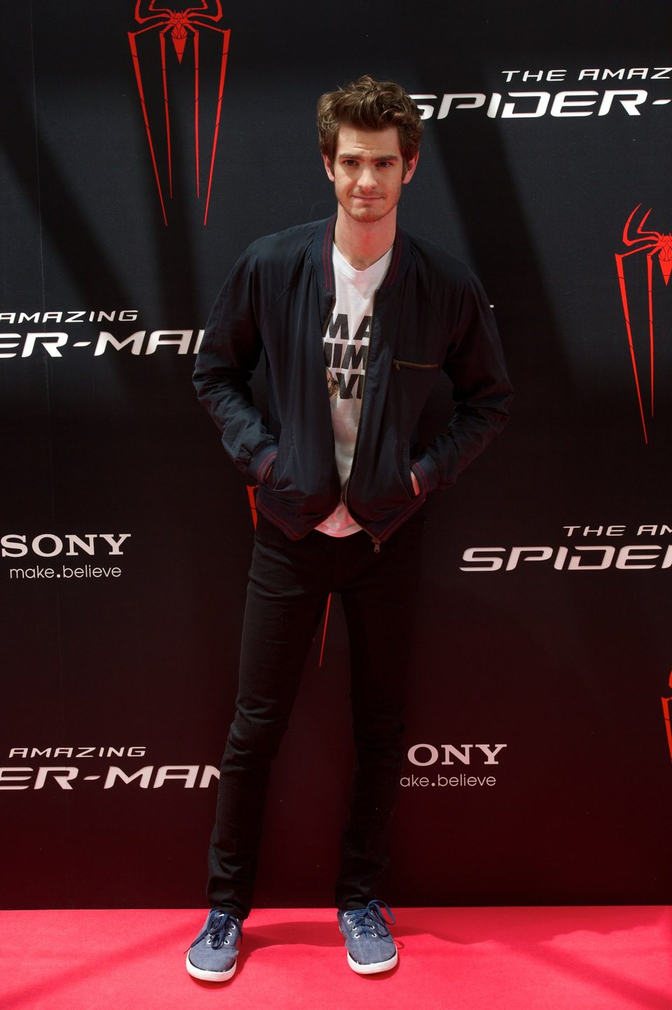 Andrew Garfield presenta 'The Amazing Spider-Man' en Madrid